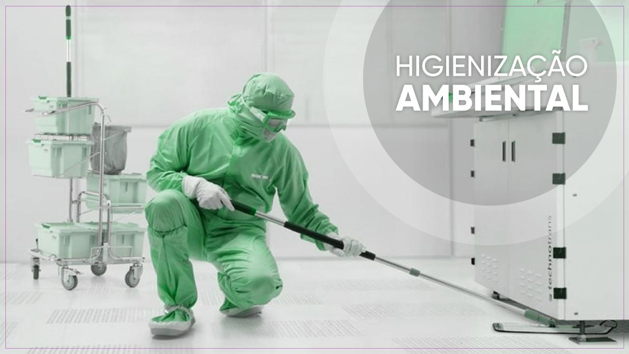 Higienização Ambiental
